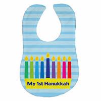 Psychobaby My 1st Hanukkah Bib