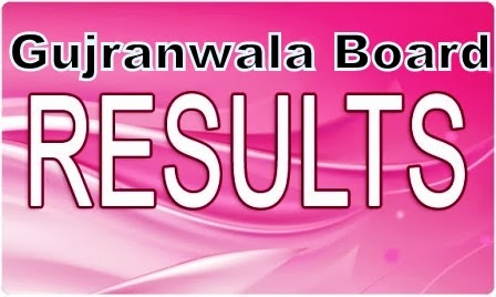 Gujranwala Board 8th result 2014