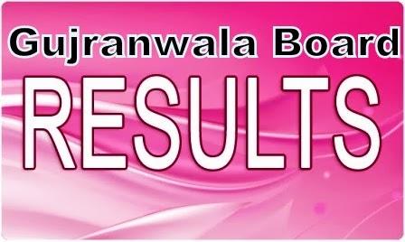 Gujranwala Board 8th result 2014