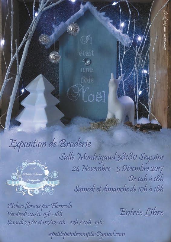 Exposition à Seyssins du 24 novembre au 3 décembre