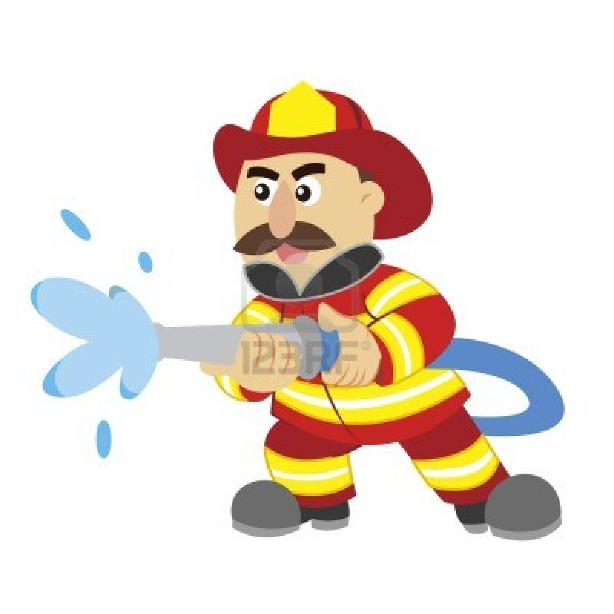Fire Fighter Cartoon_Fire Fighter Coloring_Cartoon Fire Fighter ...