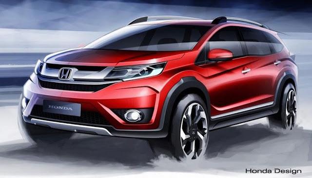 New Honda BR-V 7-Seater Crossover