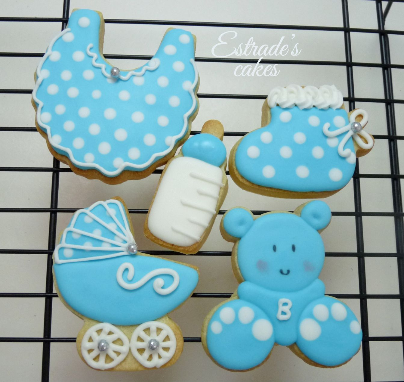galletas para bautizo decoradas con glasa - 1