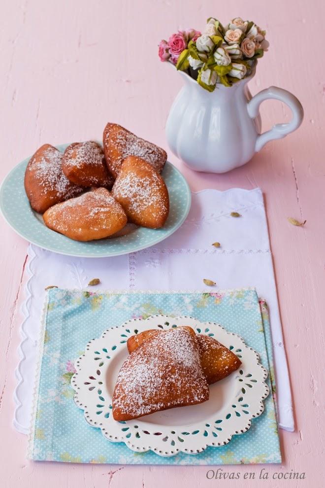 mandazi o mahamri olivas en la cocina
