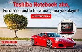 Toshiba Ferrari kampanyası