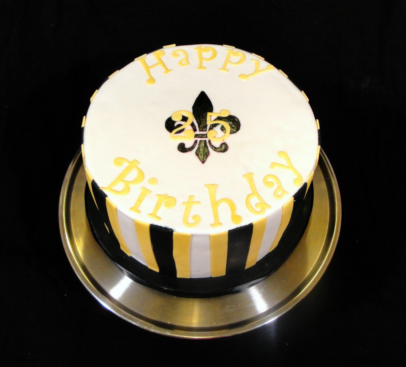 Confections Saints Birthday Cake