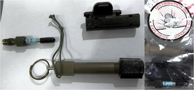An inert detonator was discovered in a checked bag at Harrisburg (MDT).