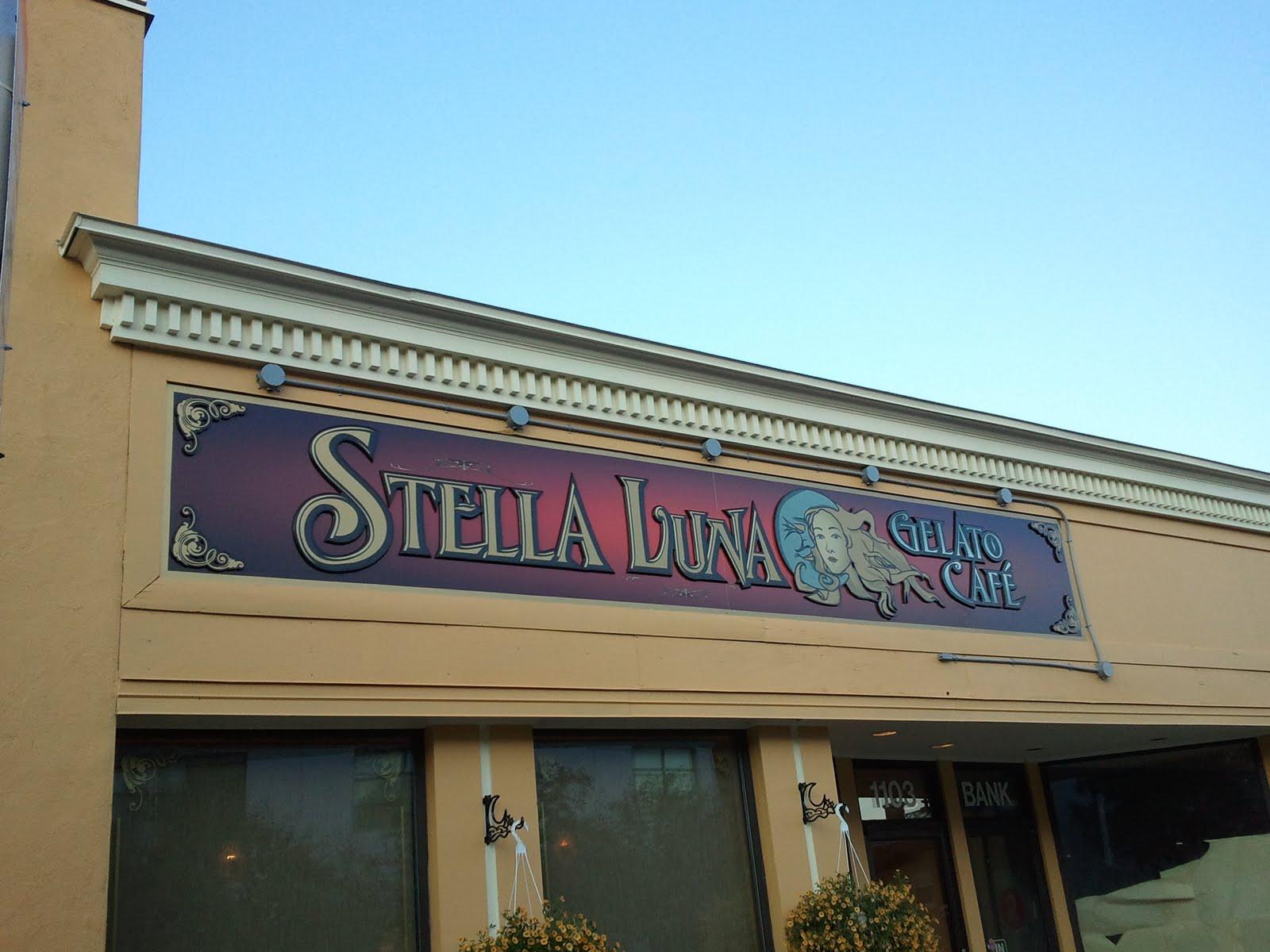 Stella Luna Gelato Café - A Quick Lick
