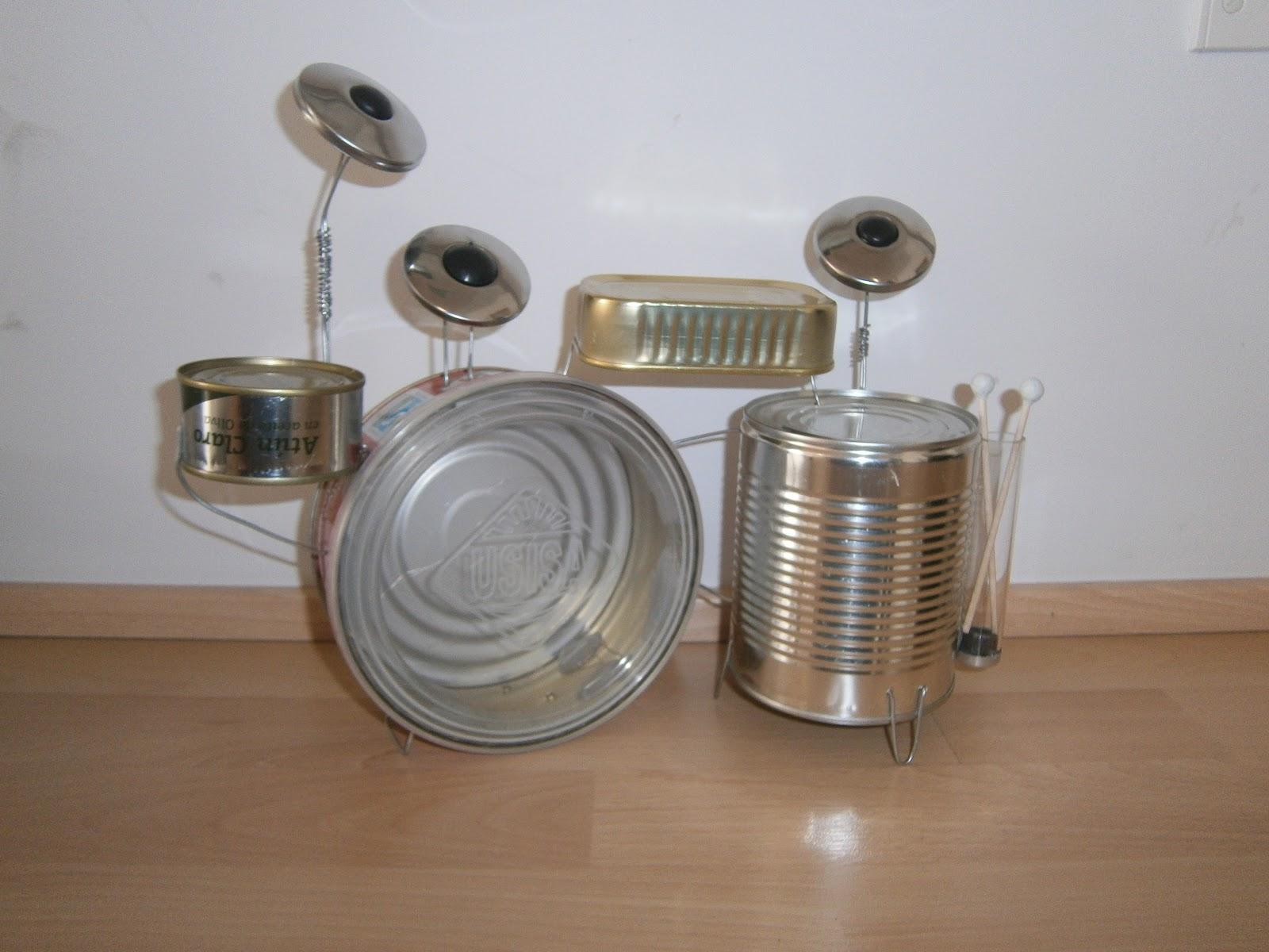 Instrumentos Musicales De Carton