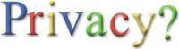 Google y la privacidad