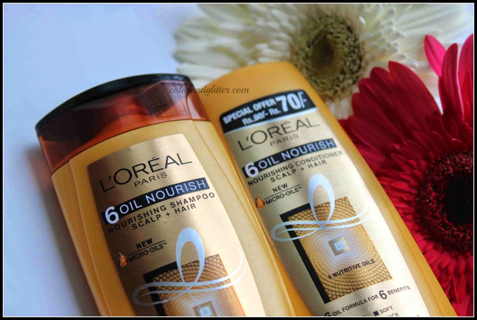 L'Oreal Paris 6 Oil Nourish Shampoo and Conditioner || Review