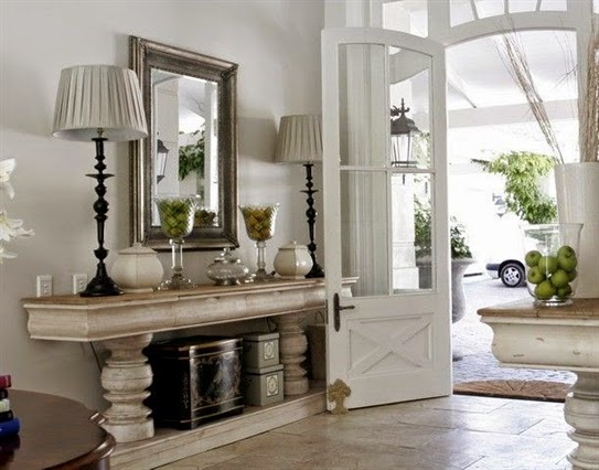 Foyer Table With Doors : Lee caroline a world of inspiration
