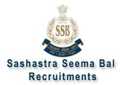 Sashastra Seema Bal SSB Recruitment 2013