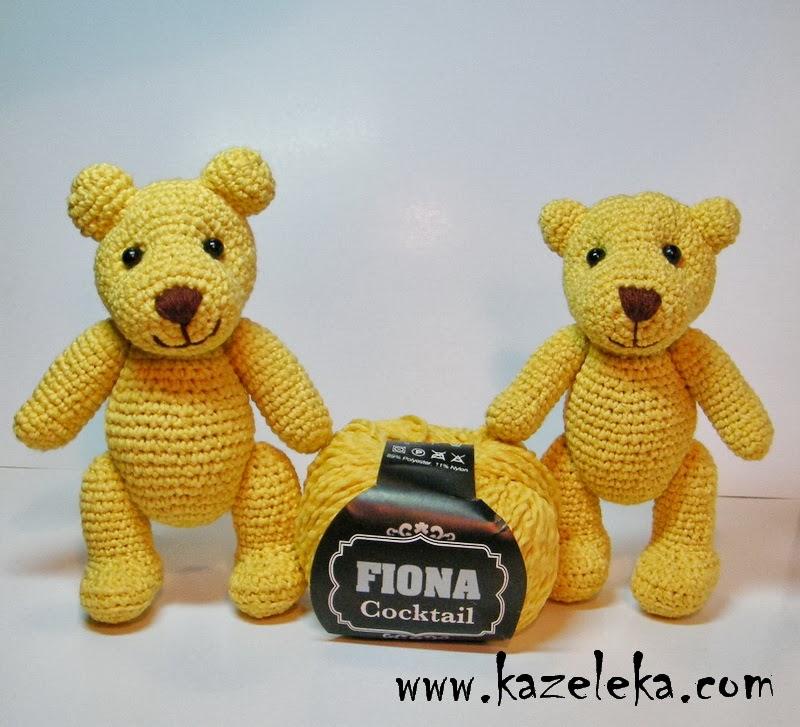 вязаные мишки - crochet bear