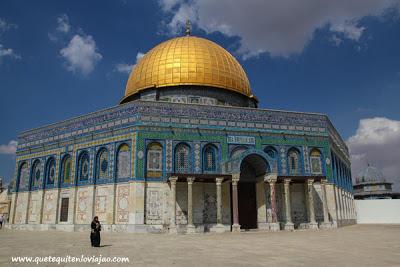 Cúpula de la roca en Jerusalén - Viaje a Israel