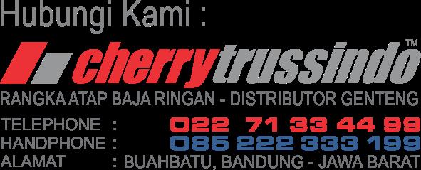 XXXIII CHERRYTRUSSINDO - Harga jual genteng keramik m class di Bandung