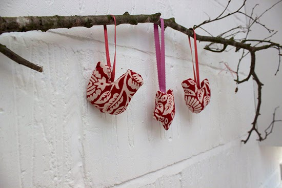 sew your own Christmas ornament