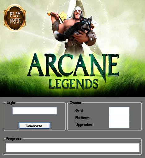 Download Free Arcane Legends Hack
