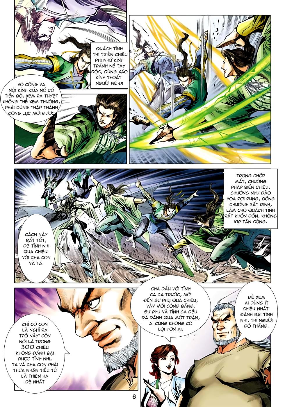 Xạ Điêu Anh Hùng Truyện chap 100 – End Trang 6 - Mangak.info