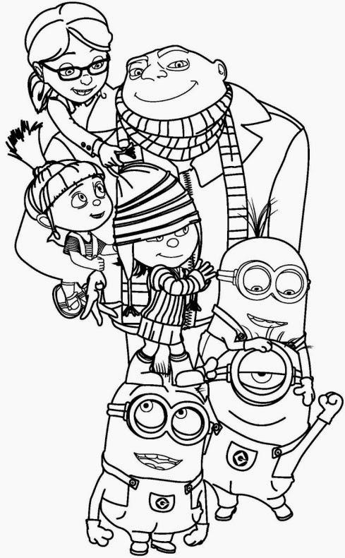 Dibujos de Mi villano favorito 2 para Colorear / Pintar : Best ...
