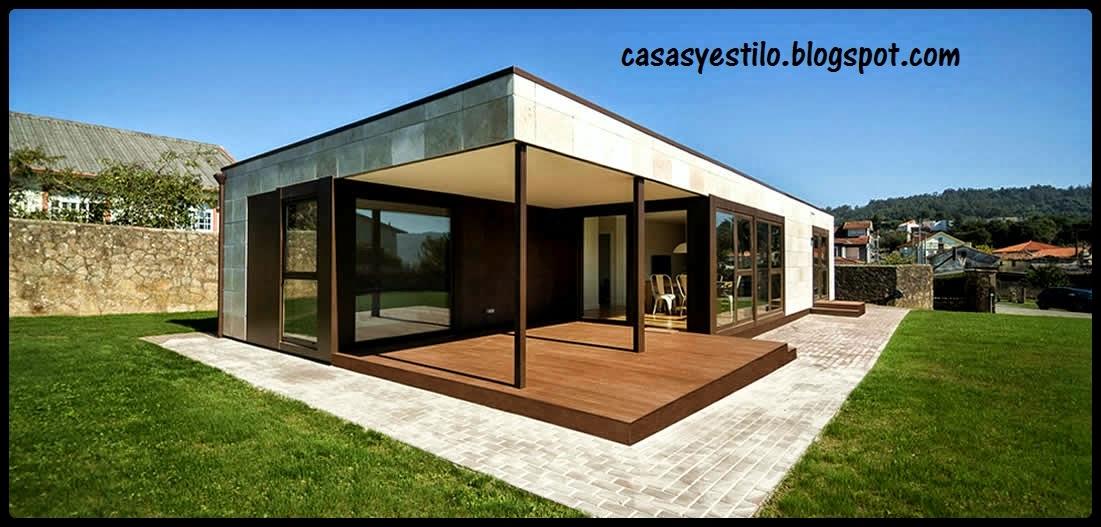Casa prefabricadas casas y estilo for Casas prefabricadas de diseno minimalista