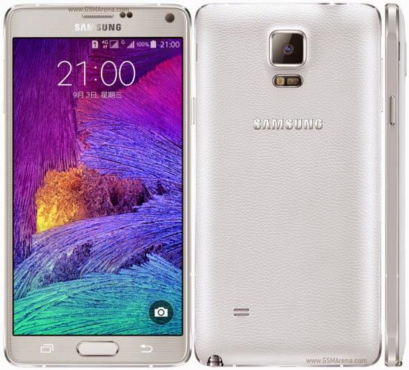 Spesifikasi Lengkap Samsung Galaxy Note 4 Duos