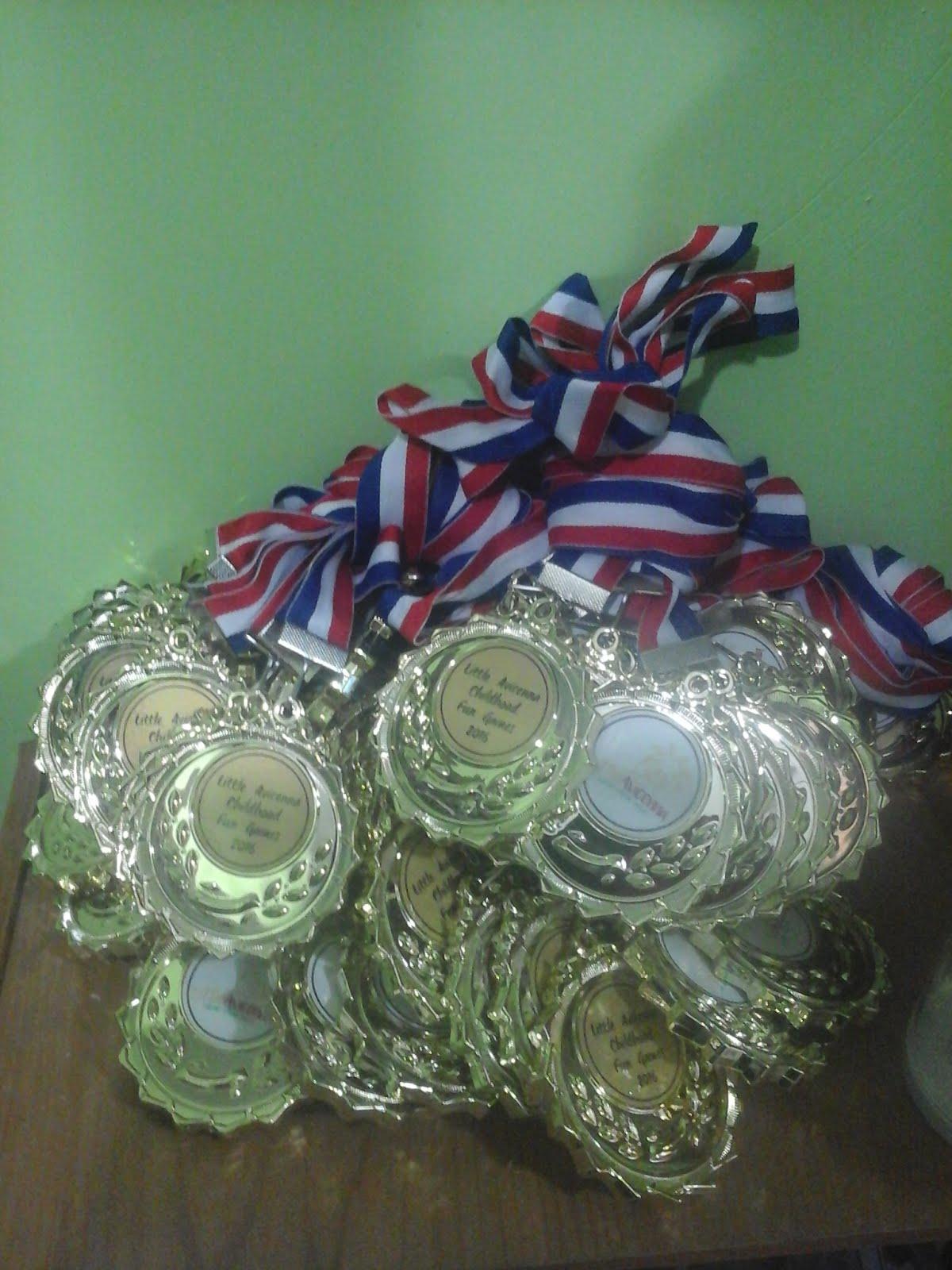 medal plastik