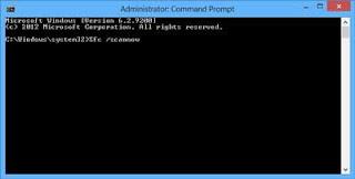 cmd+prompt Cara Mudah Memperbaiki File Windows Rusak Tanpa Install Ulang