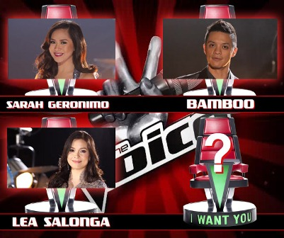 Lea Salonga joins Sarah geronimo and bamboo as The Voice of the Philippines Judges-Coaches