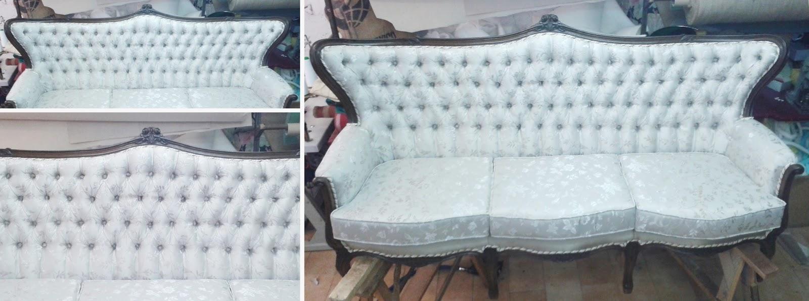 Tapicer a carrasco asturias el tapizado capiton - Como tapizar un sofa paso a paso ...
