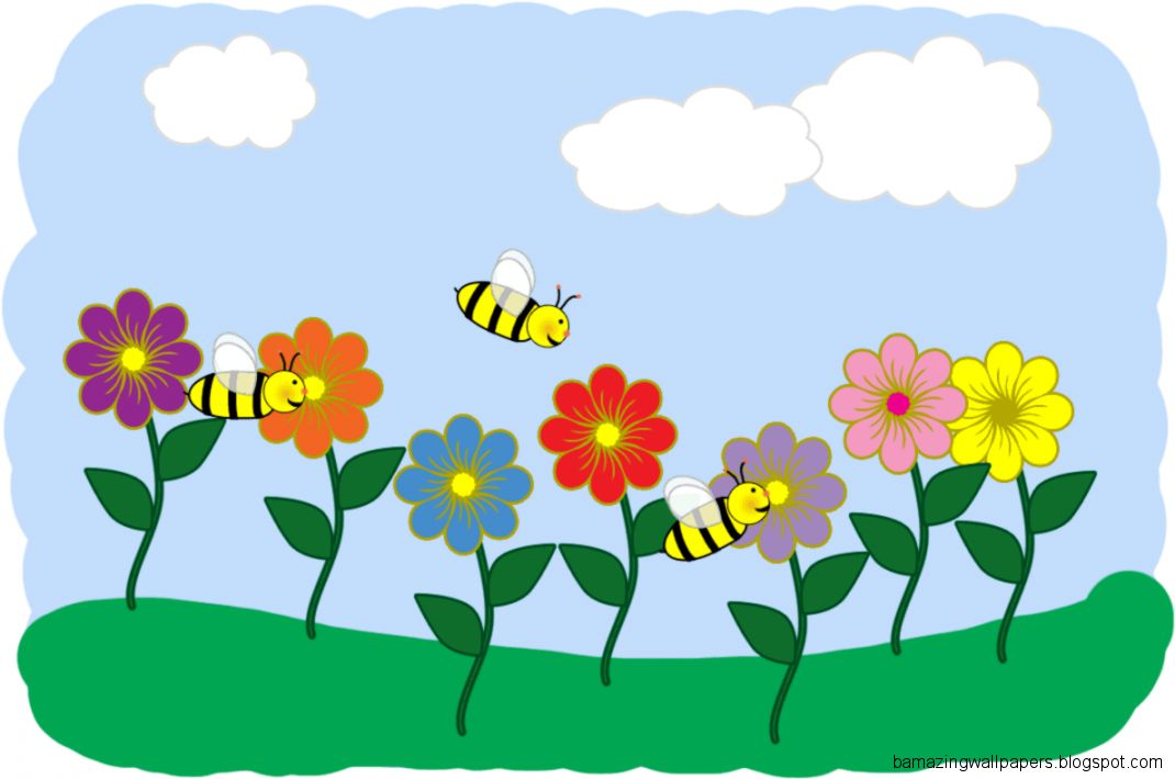 Clipart Spring Flowers  Clipart Panda   Free Clipart Images
