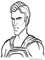 Man Of Stee Coloring Pages For Kids