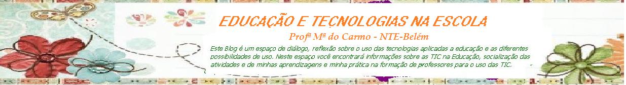 BLOG DA PROFª MCARM-NTEBELÉM - PA