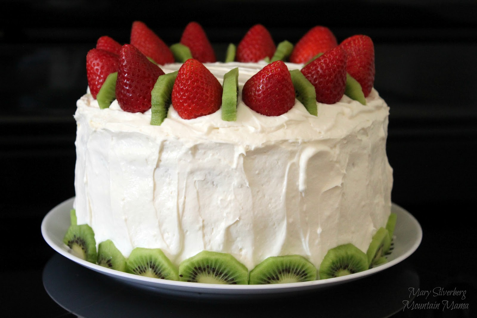 Debbie, I think you can make a regular vanilla buttercream frosting, but add the strawberry stuff as indicated. If you check out my post for Cracked Sugar Cookies with Vanilla Buttercream Frosting, you can locate the icing recipe on that post.