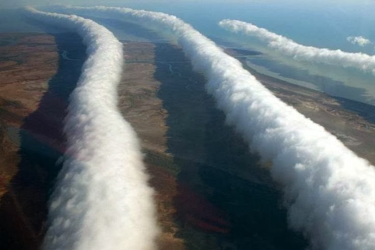 "Las nubes ""Morning Glory"" (Australia)"