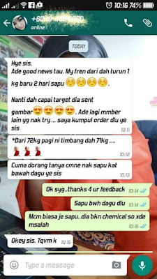 TESTIMONI PENGGUNA I AM SEXY SLIMMING LOTION