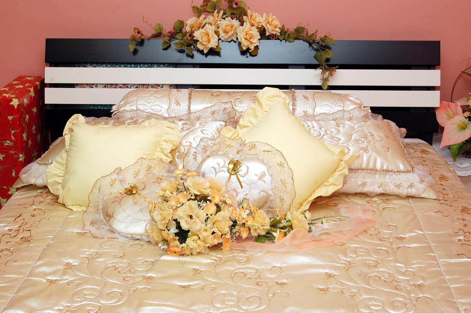 SARUNG BANTAL HIASAN / dekorasi: Dekorasi Perkahwinan