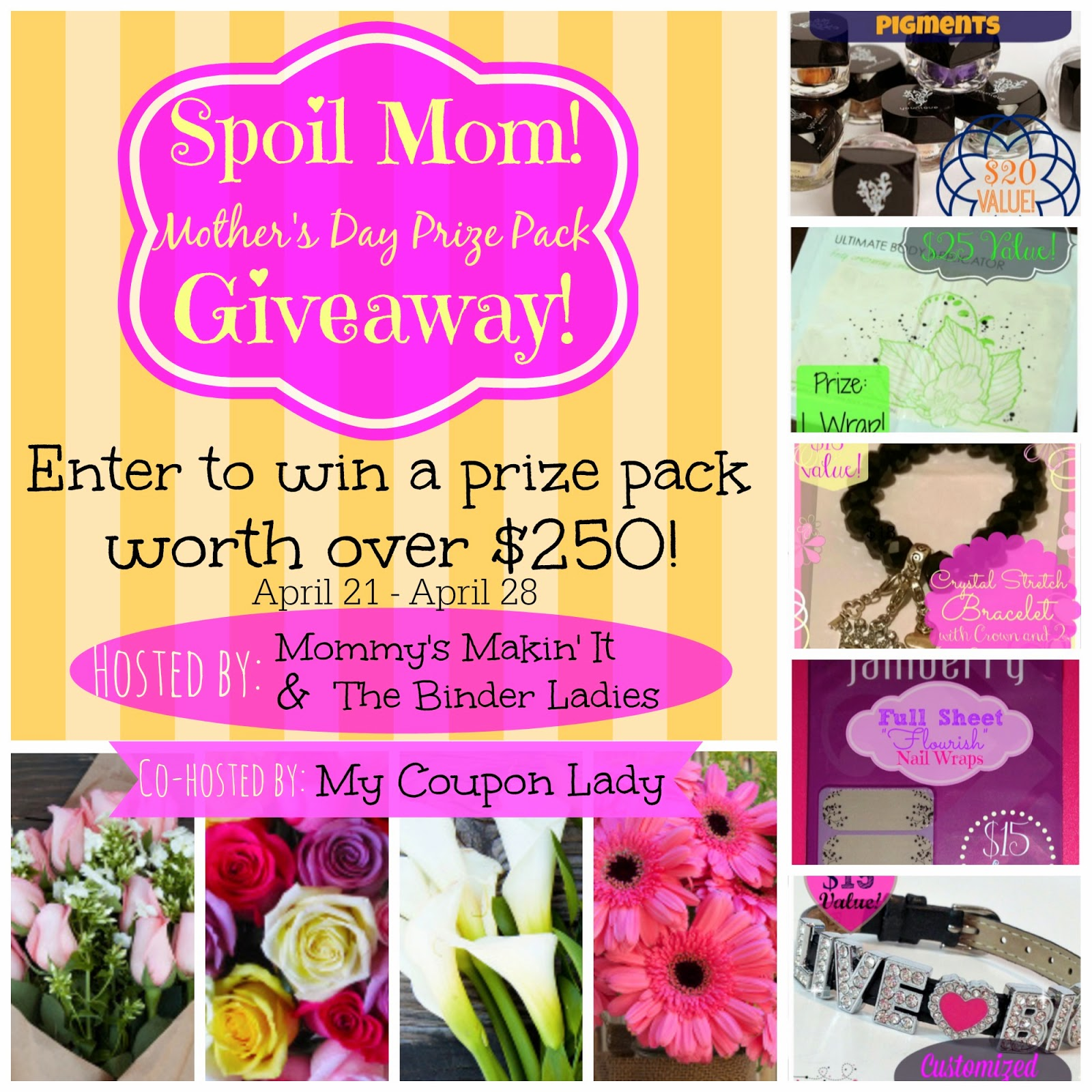 spoil mom mothers day giveaway | maegal.blogspot.com