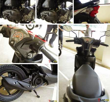 speedometer Honda BeAT eSP