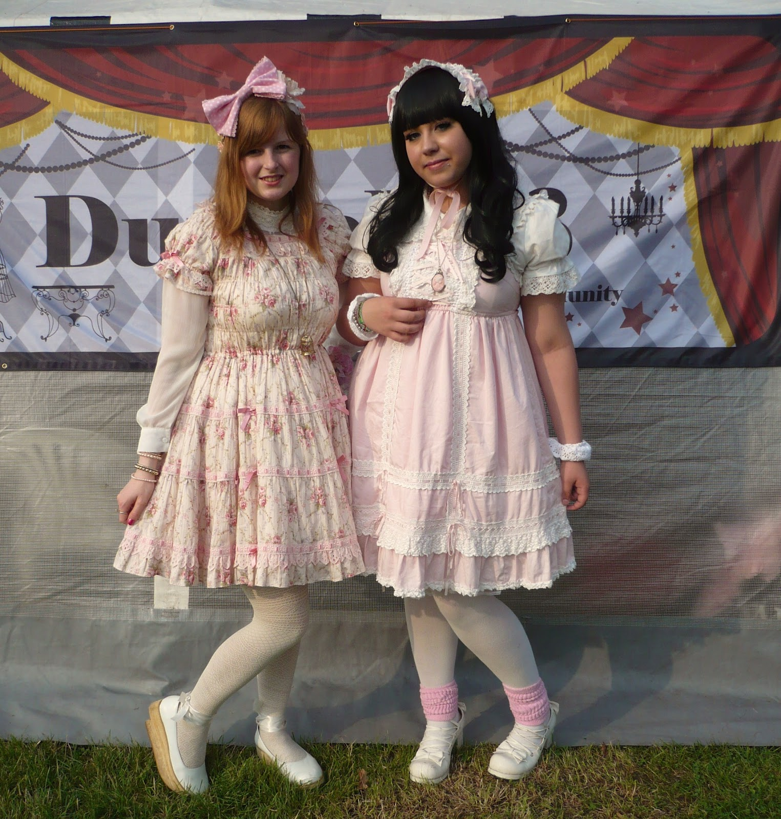 up23.jp girl with my friend Creamy => her lovely blog: Klick <3