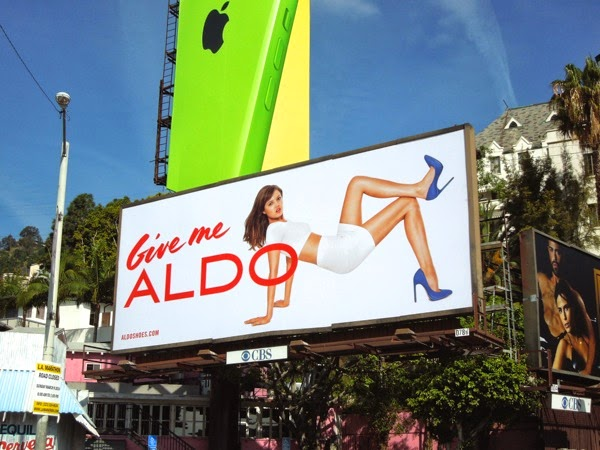 Give me Aldo Spring 2014 billboard