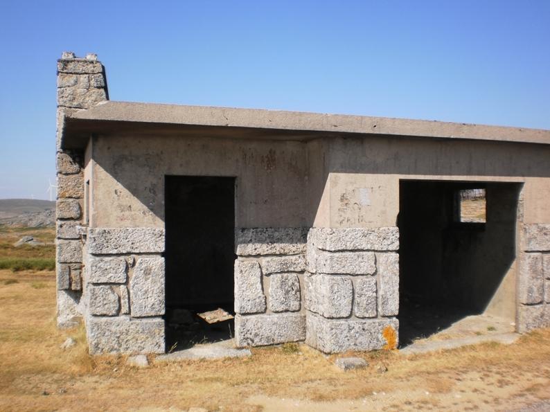 Casa dos cantoneiros na Serra da freita