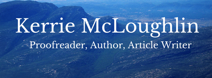 Kerrie McLoughlin, Freelance Writer and Proofreader