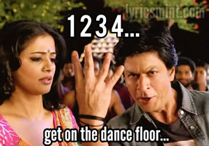 one two three four lyrics 1234 chennai express