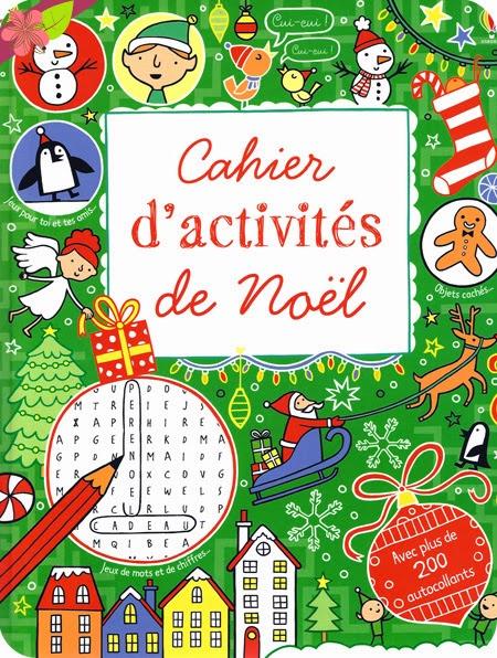 Cahier d'activités de Noël au éditions Usborne