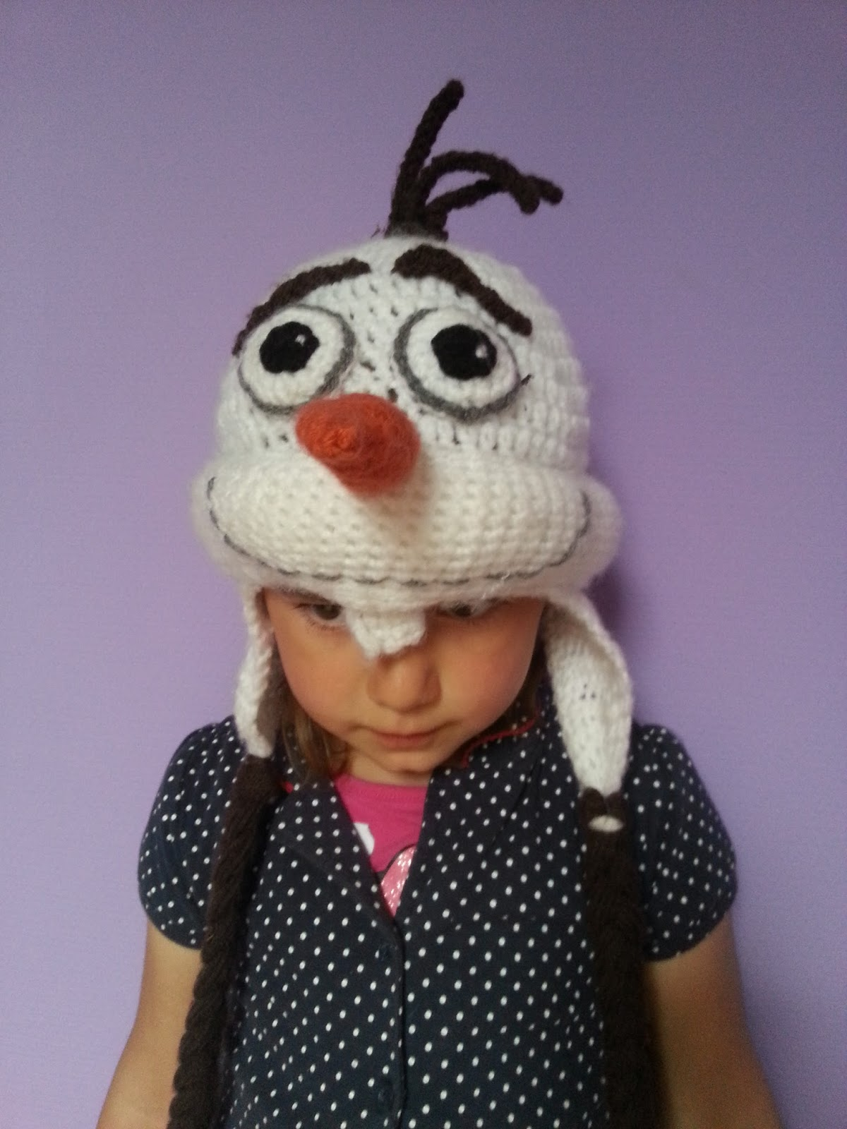 We Love Cozy : FREE pattern Olaf from Frozen hat
