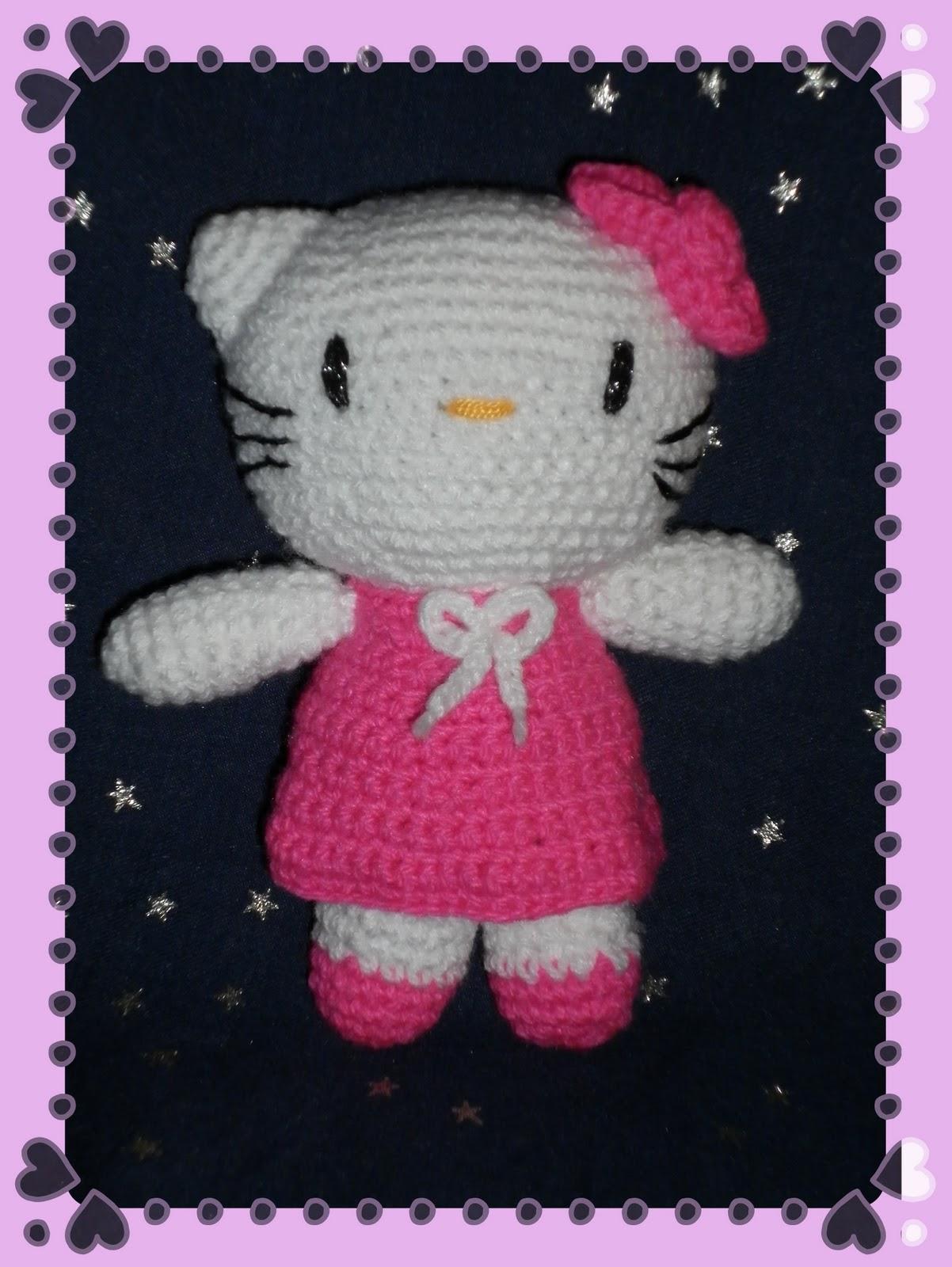 Amigurumi Kitty Patron : Amigurumis kawai: Hello Kitty Amigurumi con Patron