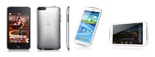 Samsung Galaxy Player 5.8 vs Apple iPod Touch 4G
