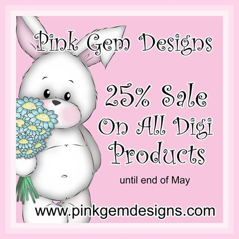 Pink Gem Designs Sale