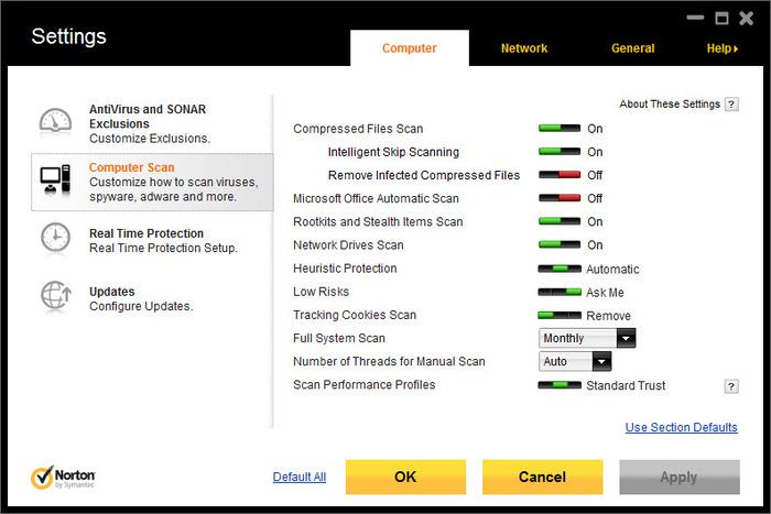 free downloads norton antivirus 2012